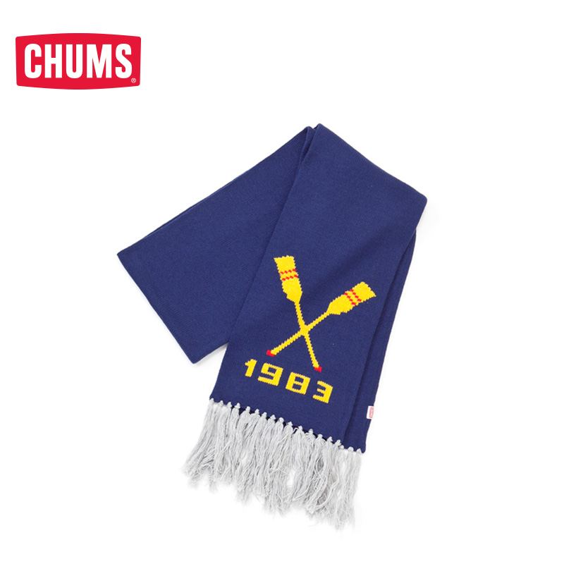 CHUMS/Qiqiaobi American Outdoor Tide Brand Heating Comfortable Wool Blended Scarf CH09-0664