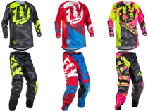 2017 FLY FISH Off-Road Racing Set Outdoor Casual Cycling Jackets and Pants