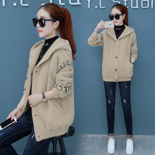 Jacket, women's clothing, autumn and winter, 2018 new styles, loose Korean version, jackets, thickened lamb, winter clothes, autumn, autumn.
