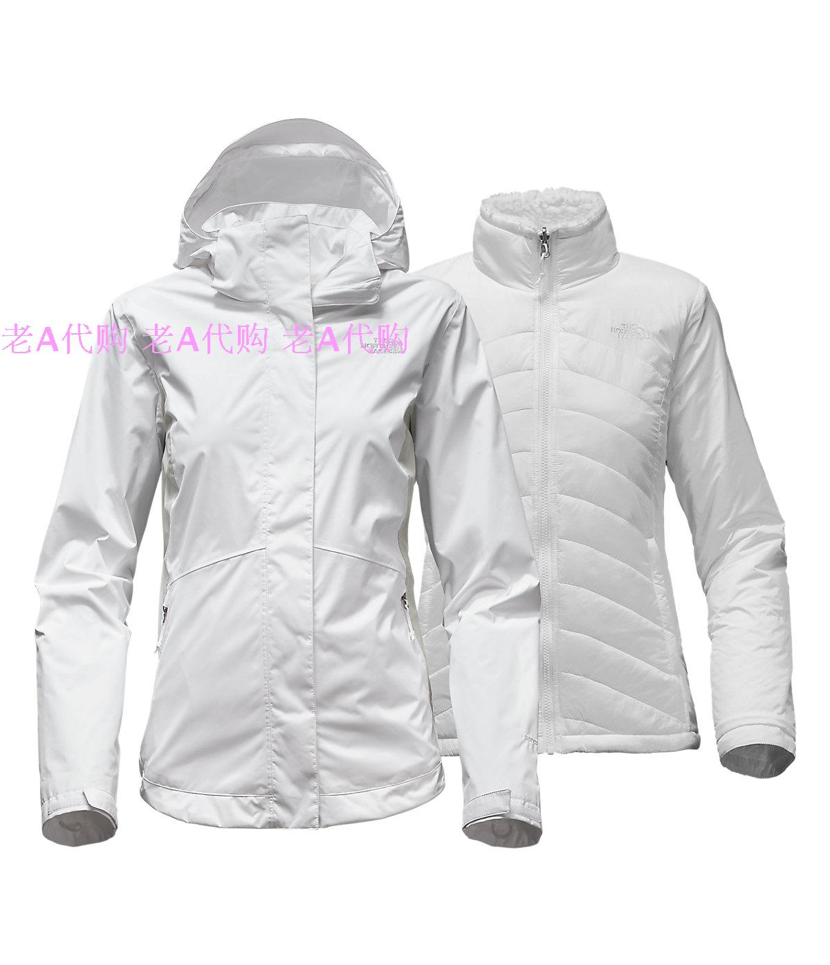 Spot TheNorthFace North Face Women's Trinity Outdoor Waterproof Breathable Fluffy Inner Bladder Charge Shopping