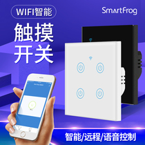 Tuya Doodle APP Smart Switch Home Wifi Touch Switch Panel Small Love Tmall Elf Control