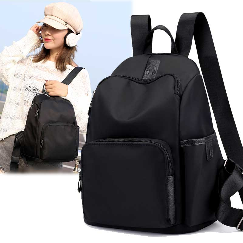 Oxford shoulder bag women 2019 new Chaohua version schoolbag 100 sets of fashionable canvas ladies bag waterproof small backpack