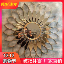 American Living room decorative mirror wall-mounted wall decoration mirror fireplace foyer entrance Mirror dining mirror custom mirror Iron Mirror