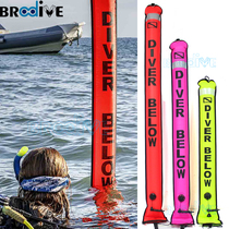 Nylon Diving Elephant pull SMB set offshore snorkeling deep submersible signal positioning warning inflatable buoy submersible line Wheel