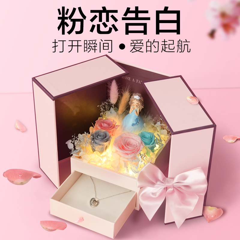 Birthday gift woman sends girlfriend friend honey to special little creative practical 520 Valentines Day gift wife