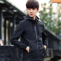 Autumn casual Korean version of young slim mens spring and autumn jacket