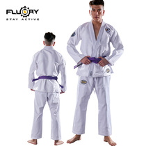 FLUORY Fire Base New Brazilian Judo Clothing BJJ GI Adult Childrens professional judo suit customization