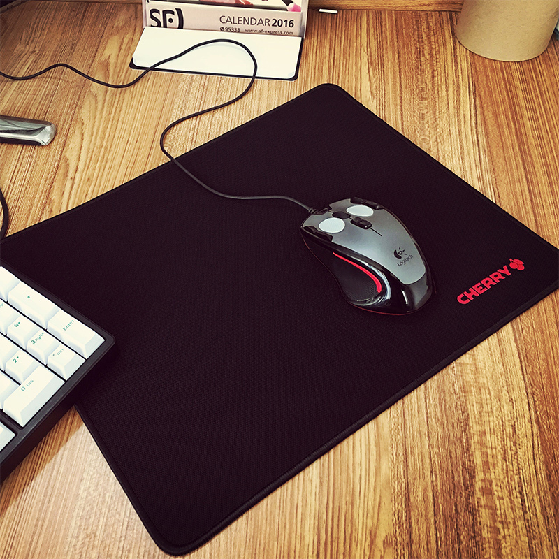 Cherry Cherry Athletic Game Mouse Pad Big Table Mat Small Large Padded Computer Office Home