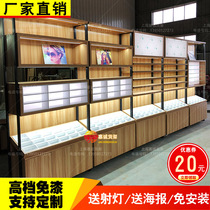 Glasses display counter glasses cabinet glasses shelf glass display cabinet island cabinet display cabinet glasses counter customization