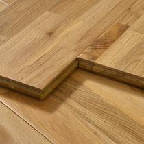 White oak pure solid wood floor Imported antique light color retro bedroom home improvement logs Nordic factory direct sales