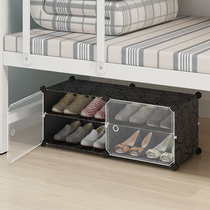 College student dormitory shoe shelf to collect artifacts bedroom牀 small must-have home simple door shoe cabinet