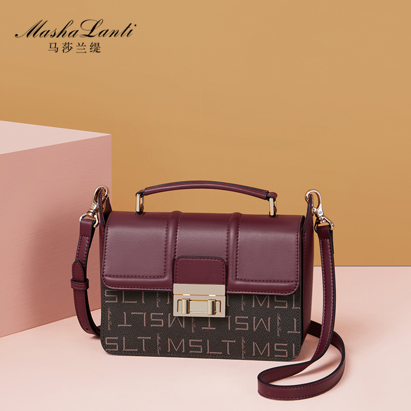 Small bag female 2018 new fashion handbag temperament wild small square bag ladies large capacity shoulder Messenger bag
