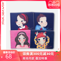 YOUK SHIM WON Lu Xinyuan illustration drivers license holster travel card case protective sleeve personality creative