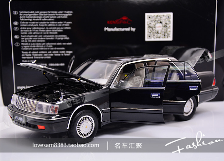 Its 1:18 Toyota Crown Crown 155 black car model collection