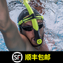 MP Phelps Swimming Breathing Tube Freestyle Underwater Respirator Snorkel training equipment Swimming equipment