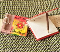 Thai crafts Tourist Souvenirs creative cultural products childrens gift paper notebook personalized hand account gifts