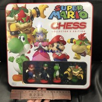 USAopoly Super Marie Mario Chess Collection Edition Metal gift Box Limited set