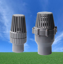 PVC bottom valve bottom check valve Terminal reverse check valve UPVC plastic pump bottom valve filter into the water flower basket