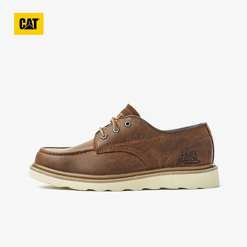 CAT Carter spring casual leather shoes soft breathable retro single-shoe counters the same