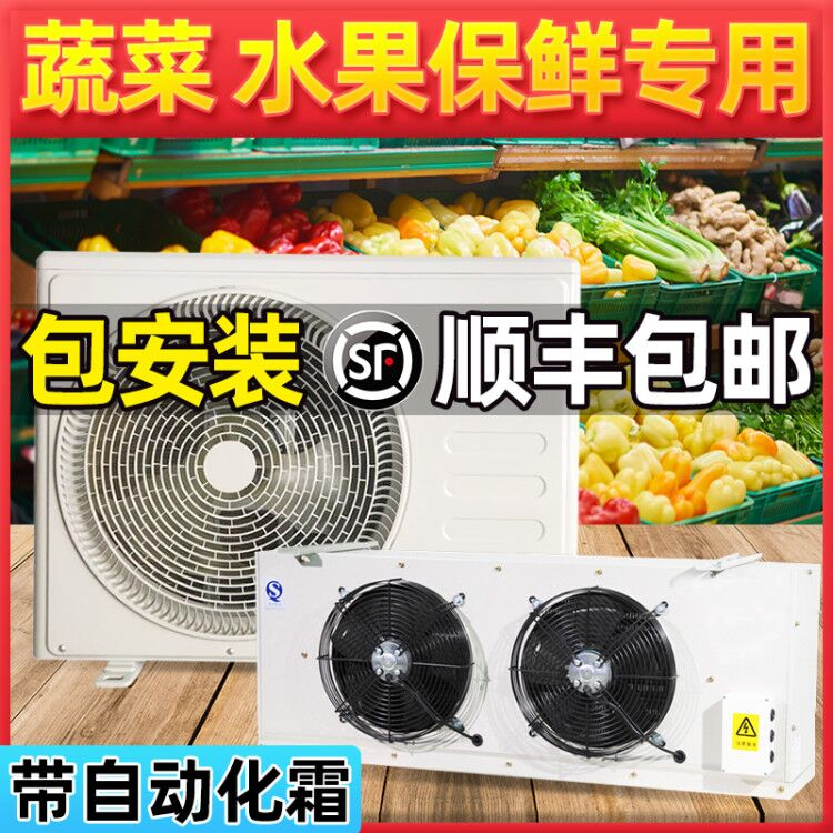 Refrigeration storage small chiller cold storage refrigeration all-in-one machine freezer freezer full set of preservation unit -18 degrees