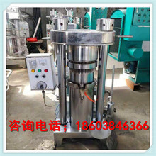 New type of hydraulic oil press full automatic vertical sesame oil machine commercial large grain and oil processing equipment
