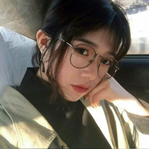 e6d4edce9a Net red glasses frame female Korean version of the tide retro Harajuku wind  ulzzang metal round
