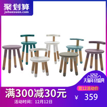 (Direct mail warehouse) Italian mutable children can lift adjustable chair thickened baby backrest solid wood chair