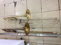 Second-hand musical instruments long medium long high-pitched long instrument prop decoration decoration