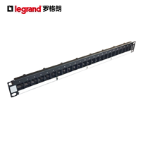 TCL Rogeland super five categories of six types of 24-port wiring rack network telephone voice universal 632793 overhead