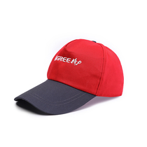 Gree engineering cap gray-red embroidered dust-proof air conditioning after-sales work cap