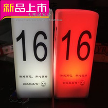 Puzzle Werewolf Kill number Lamp number Lamp number plate multi-color optional werewolf number card printing LOGO10 a lamp
