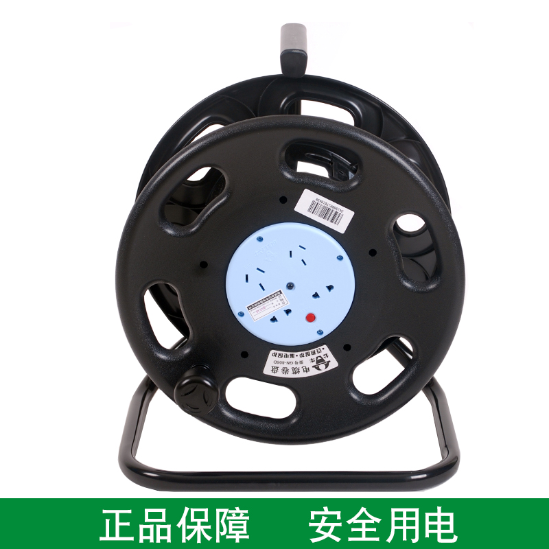 Bull GN-806D Wireless 30m 50m Mobile Winding Coil Trailer High Power 4-socket Winding Coil