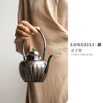 Its worth waiting for Guan Ru Tang 999 Anemone tea kettle Silver Kettle 650ml Pre-sale 30 days