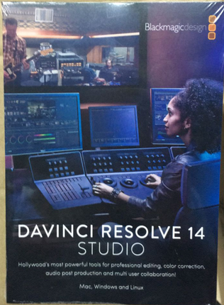 DaVinci's color correction software DaVinci Resolve14 color correction software