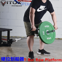 Barbell Barrel Rack Explosive core strength training hard pull boating Barbell Barrel Cannon rack ABS dorsal muscle training