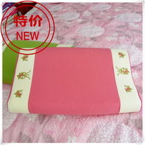 Korea memory pillow cervical pillow slow rebound pillow space pillow butterfly pillow cervical pillow special embroidery