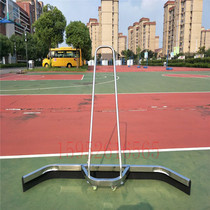 High-grade tennis venue stainless steel water pusher MOP rubber bar basketball field wiper scraper Eva Strip