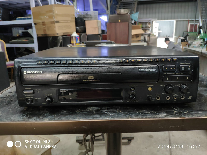 5,730 77] Inventory of TEAC First Audio HI8mm Video Recorder