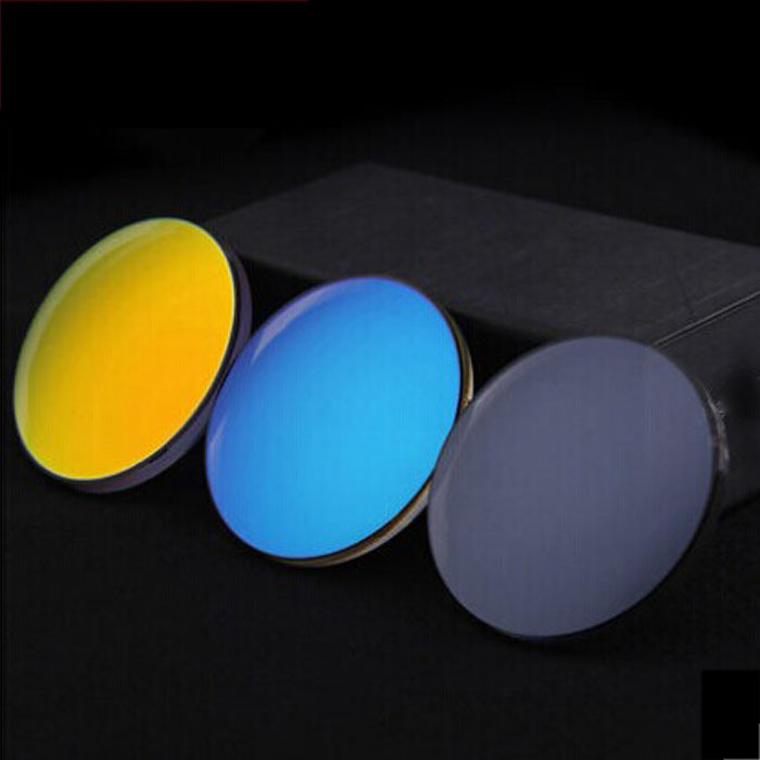 Professional optician brand lens multicolor colorful can be equipped with myopia aspherical polarized sunglasses