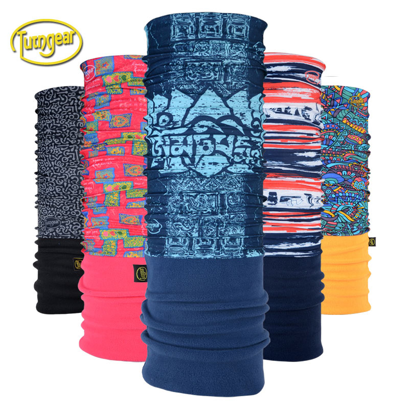 Tuoteng outdoor sunscreen scarf, velvet scarf, men's and women's scarf, neck mutant magic riding scarf