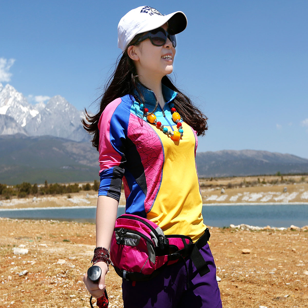 Xueqiu Island Spring and Summer Long-sleeved Fast-drying Clothes, Fast-drying T-shirt, Breathing and Sunscreen, Slim Women