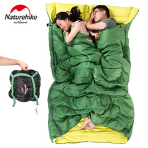 NH couple sleeping bag outdoor camping, spring, summer, autumn and winter four seasons warm room noon break portable Adult sleeping bag