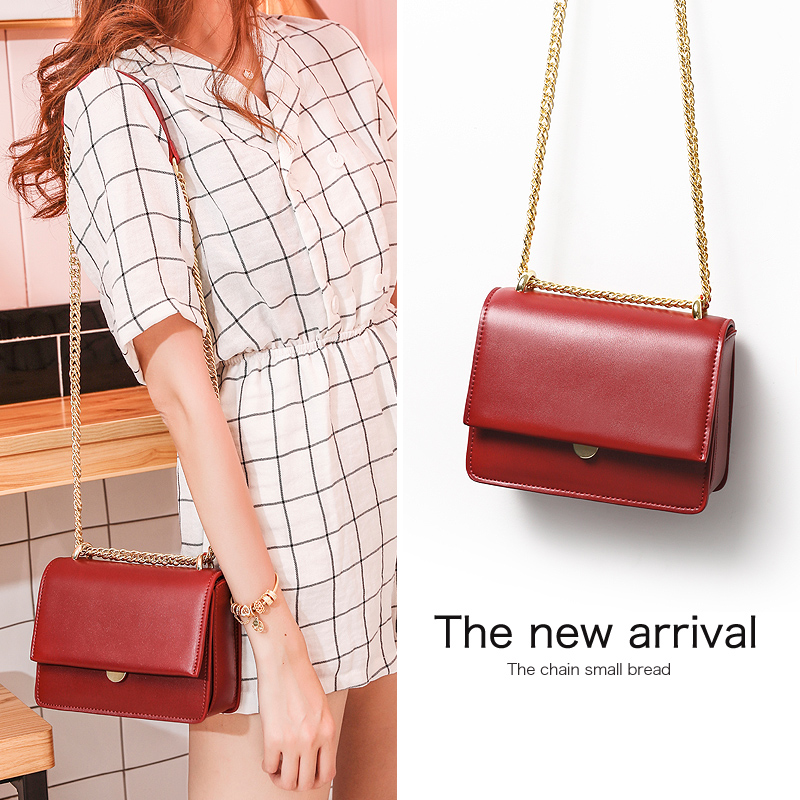 Red Fashion Chain Bag