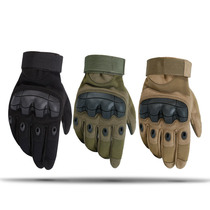 Tactical Gloves Semi-total refers to men and women touch screen outdoor mountaineering riding anti-skid sports autumn and winter Special Forces battle Wolf gloves