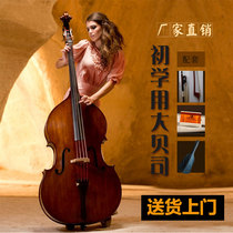 Factory direct beginner playing Test bass double cello bass adult musical instrument