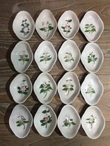 Republic of China colorful flower Finn small disc (price concessions bag old bag true) antique porcelain