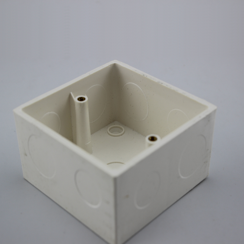Thickened and Heightened Type 86 Bottom Box 47MM Outlet Hole Distributable Pipe Volume Controller Box