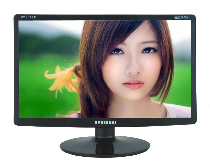 New 19.22.24-inch LED high-definition display, office liquid crystal, wall-mountable wall, factory direct sales,