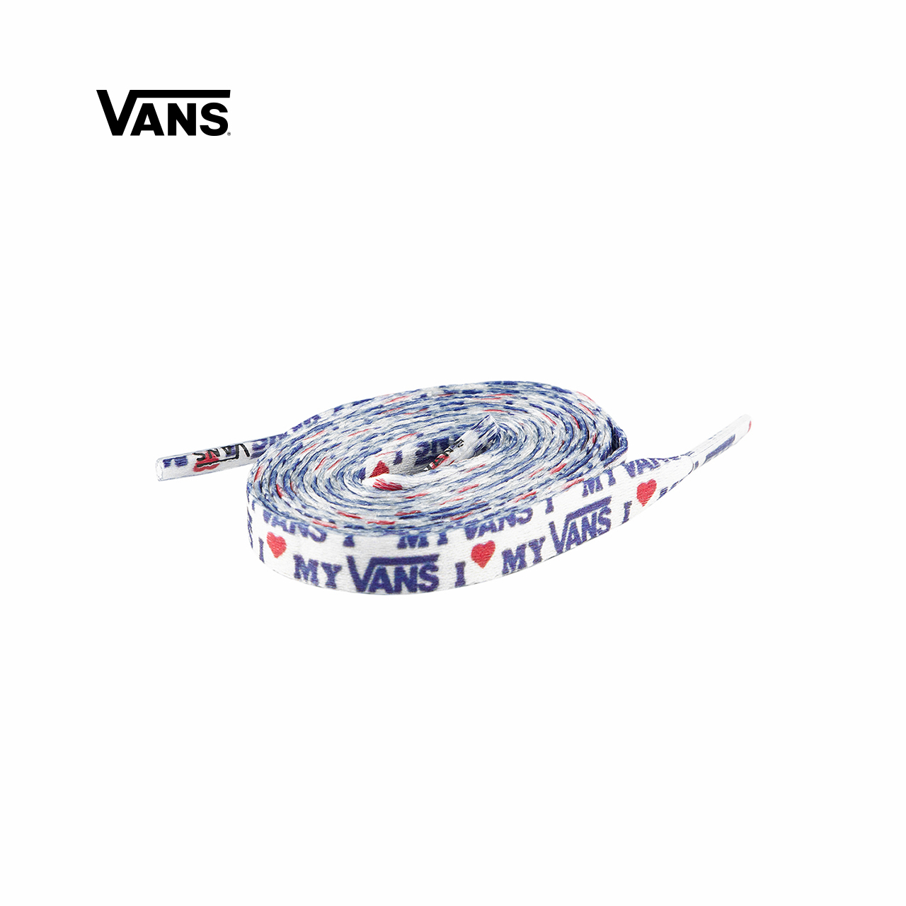 Vans Vance official white print sports casual mens and womens shoelaces