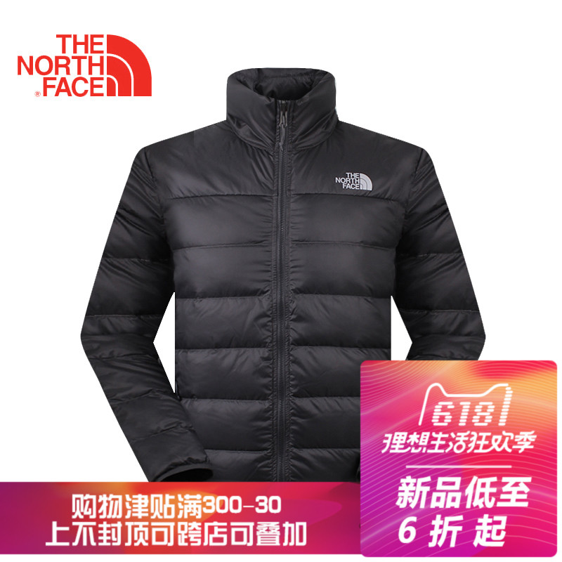 Clearance sale of the North Face women's light water-proof 550 fluffy down clothes 368H